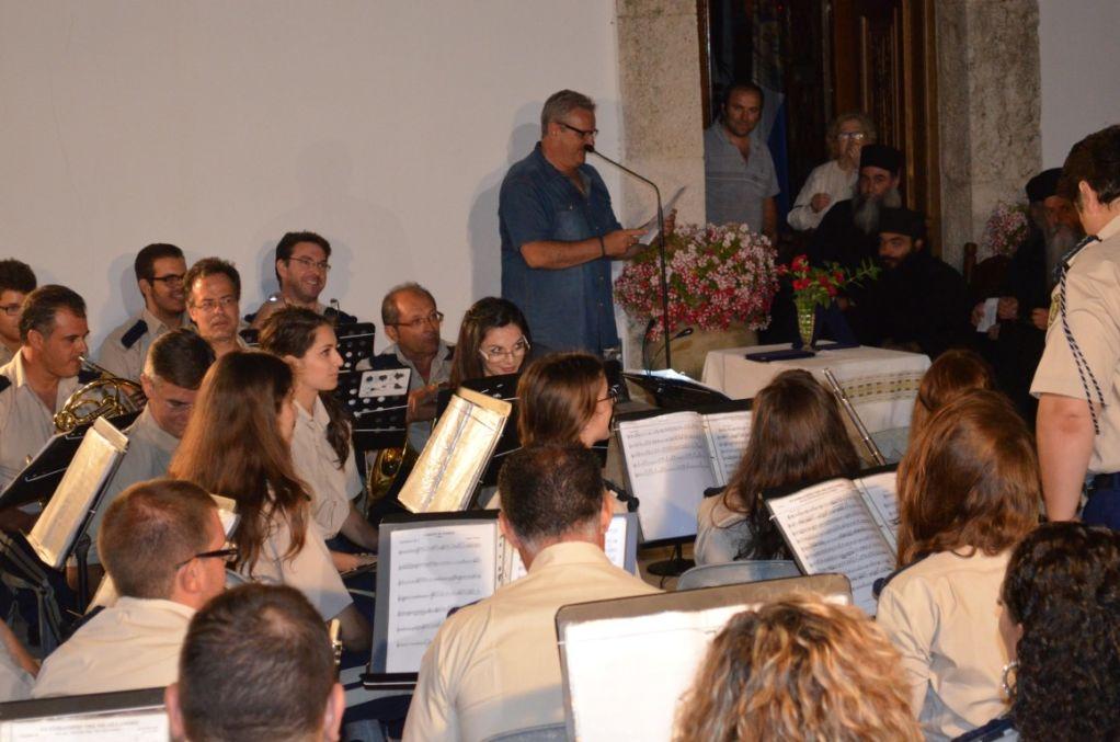 Η συναυλία της Φιλαρμονικής στην Ι. Μονή Φανερωμένης