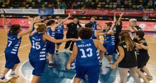 Συγχαρητήρια στην χρυσή Εθνική Μπάσκετ Κωφών Γυναικών