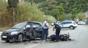 Θανατηφόρο τροχαίο δυστύχημα στη Λευκάδα