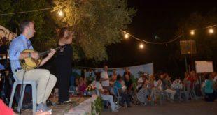 Πολύ κέφι στην γιορτή του τρύγου στην Απόλπαινα