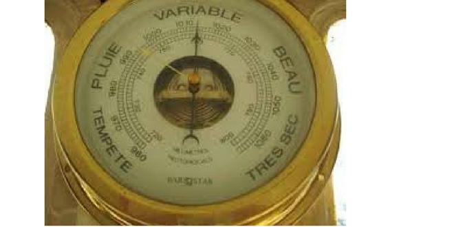 Το βαρόμετρο της ημέρας: Μεταβολές…