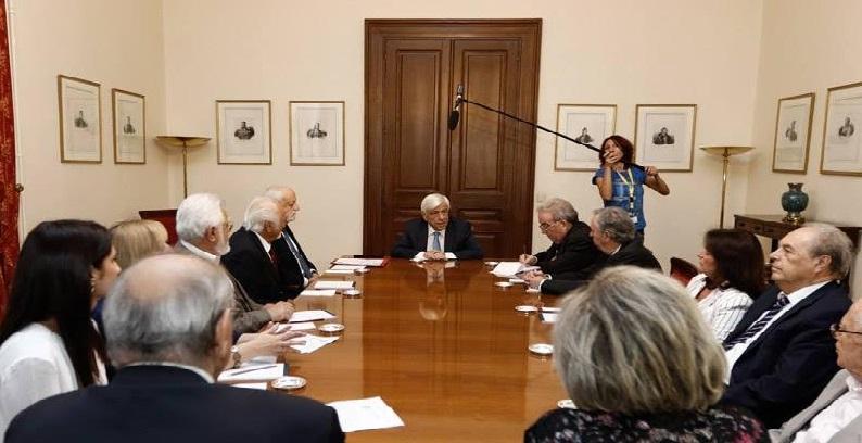 Η Επτανησιακή Συνομοσπονδία στον Πρόεδρο της Δημοκρατίας
