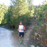 Οι δρομείς των 23 Χλμ. ενώ τρέχουν στο βουνό των Σκάρων