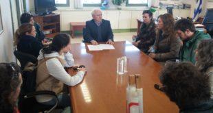 Συνάντηση Αντιπεριφερειάρχη με μέλη της Ε.Λ.Μ.Ε.
