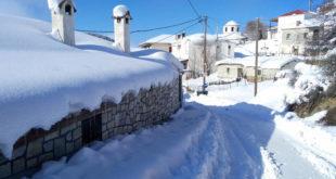 Έκτακτο δελτίο καιρικών συνθηκών: Επιδεινώνεται ο χιονιάς!