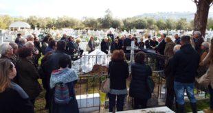 Στο Κοιμητήριο της Λευκάδας αναπαύεται πλέον ο Σπύρος Ασδραχάς