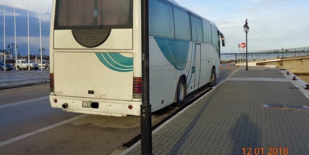 Κλειστός ο Πόντες από βλάβη λεωφορείου