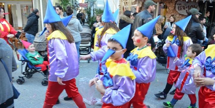 Αναβάλλεται η σημερινή παιδική καρναβαλική παρέλαση