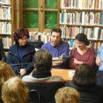 Ο «Άλικος Πάγος» διαβάστηκε στην Δημόσια Βιβλιοθήκη