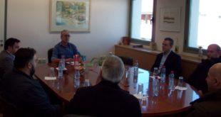 Συνάντηση Δημάρχου με την νέα Δ. Ε. του Επιμελητηρίου