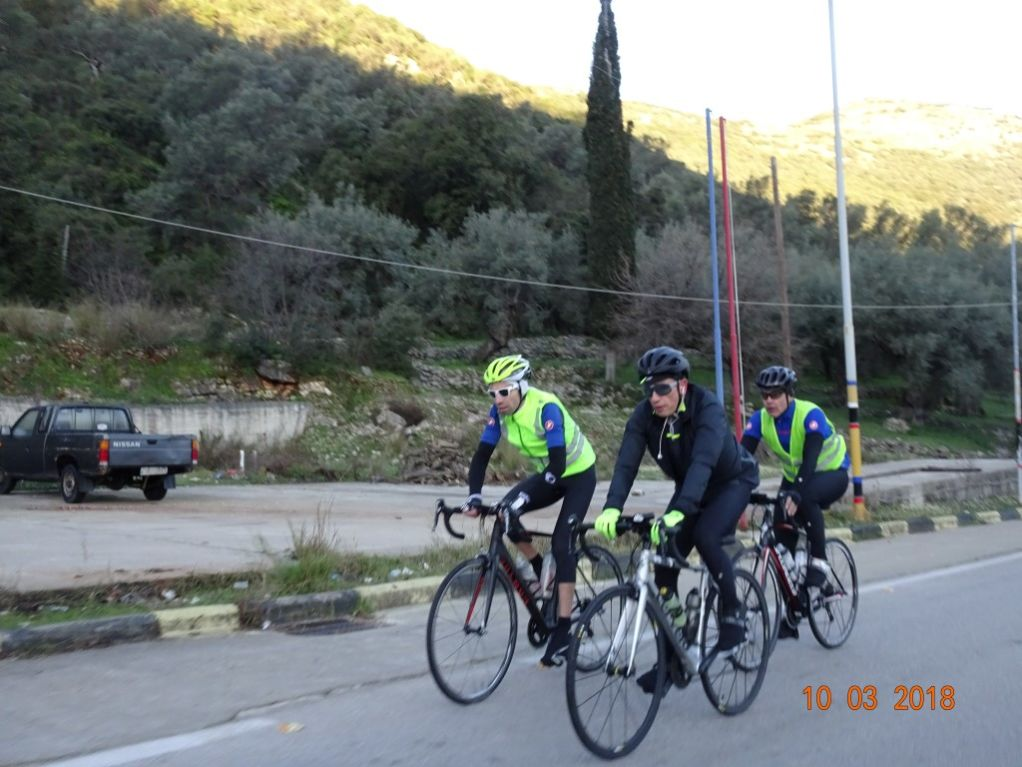 Με επιτυχία έγινε η ποδηλατική διαδρομή «brevet» των 200 Χλμ