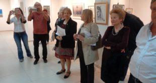 Τα εγκαίνια της 1ης έκθεσης ζωγράφων της Λευκάδας