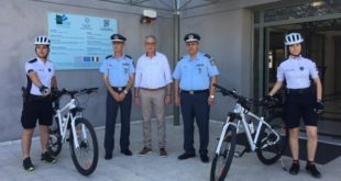Επίσημη παρουσίαση των αστυνομικών με ποδήλατα