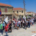 Μεγαλειώδης η αντιπολεμική πορεία στην Λευκάδα
