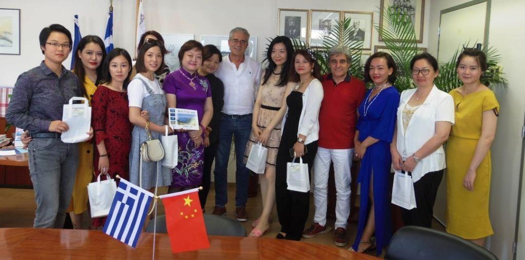 Επίσκεψη Κινέζων επιχειρηματιών στον Δήμο Λευκάδας