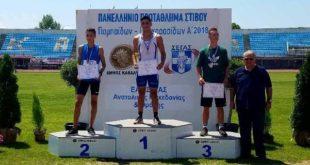 Χρυσό ο Φυτόπουλος στο Πανελλήνιο Πρωτάθλημα