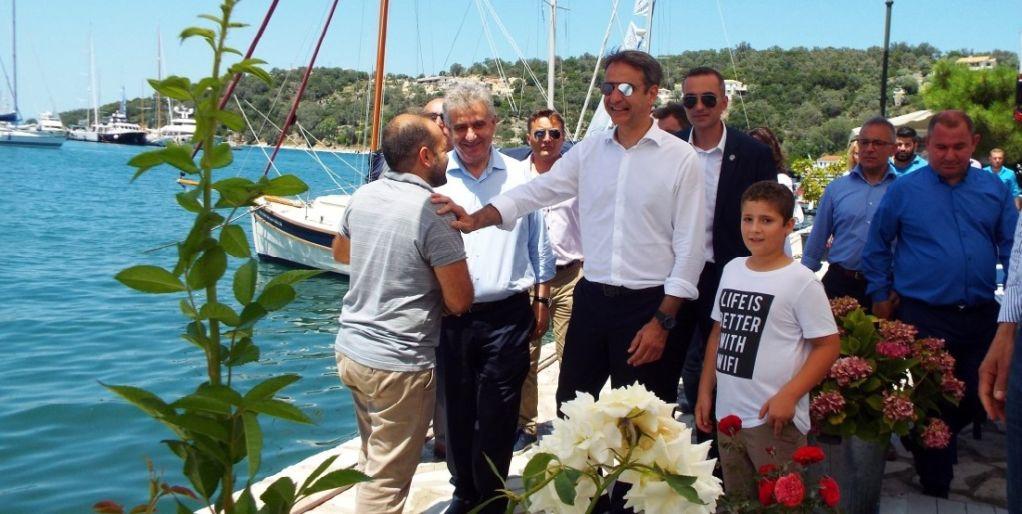 Η ΝΟΔΕ Λευκάδας για την επίσκεψη του Κ. Μητσοτάκη