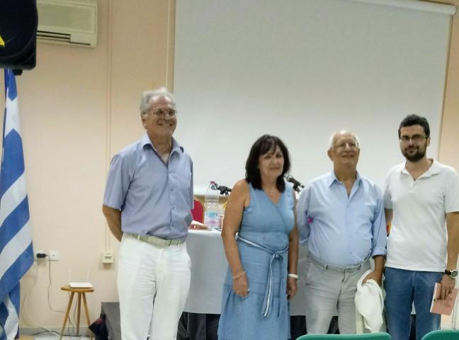 Η παρουσίαση του βιβλίου της Κατερίνας Λιβιτσάνου