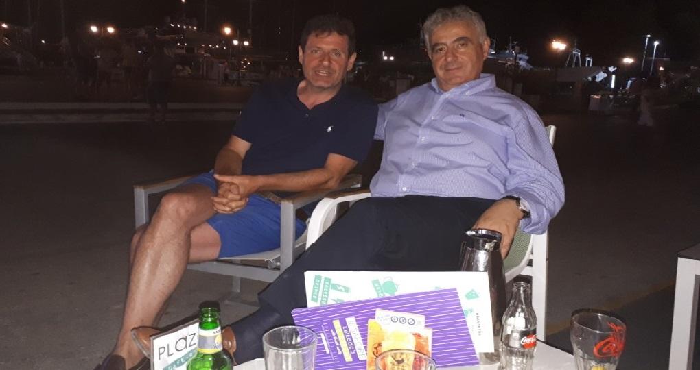 Η φωτο της βραδιάς: Συναντήσεις