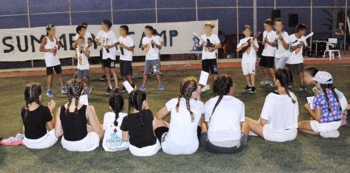 Με επιτυχία υλοποιήθηκε το «summer Camp 2018»