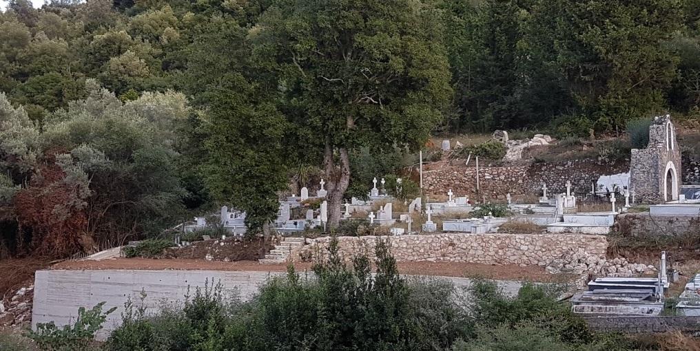 Έγιναν οι παρεμβάσεις στο Κοιμητήριο Κοντάραινας
