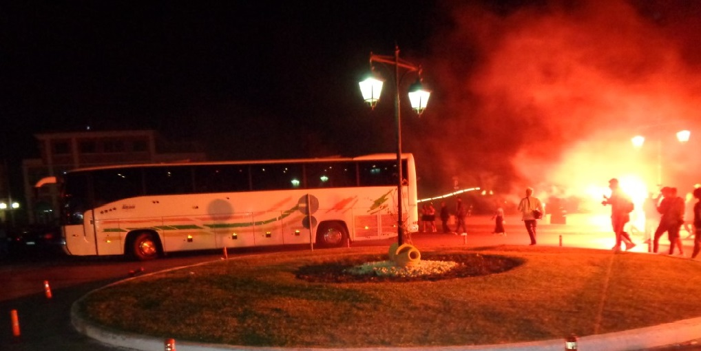 Θερμή υποδοχή της ομάδας της Νίκης στη Λευκάδα