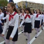 Η μαθητική παρέλαση της 28ης Οκτωβρίου στη Λευκάδα