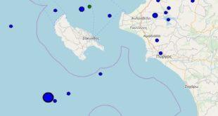Ζευγάρι ισχυρών σεισμών ταρακούνησε την Δυτική Ελλάδα