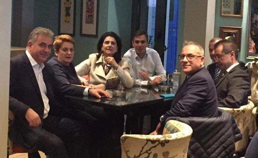 Η υποψήφια περιφερειάρχης Ρόδη Κράτσα στη Λευκάδα