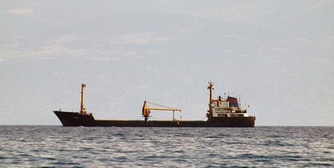 Προσάραξη φορτηγού πλοίου στον Λευκάτα