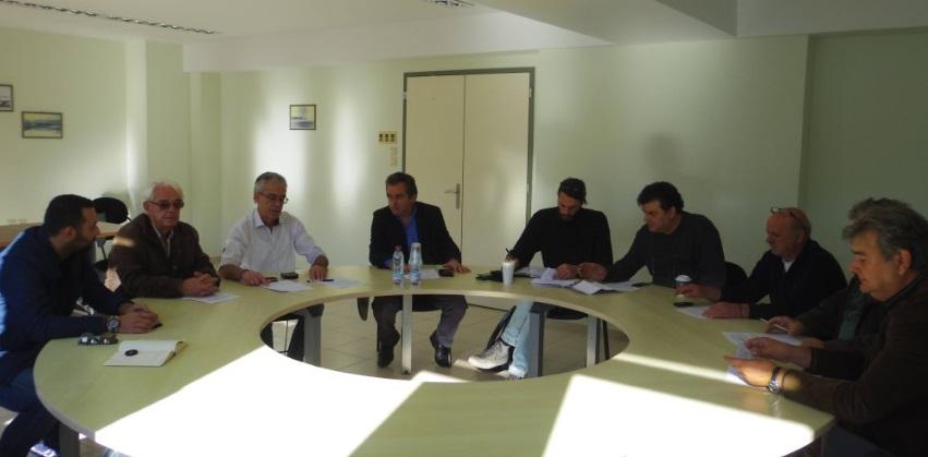 Σύσκεψη δημ. Αρχής με προέδρους για το Κτηματολόγιο