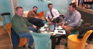 Η Φωτο της ημέρας: Κομματικές συναντήσεις