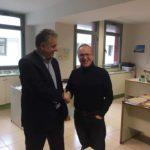 Ευχετήρια επίσκεψη του βουλευτή στο Διοικητήριο