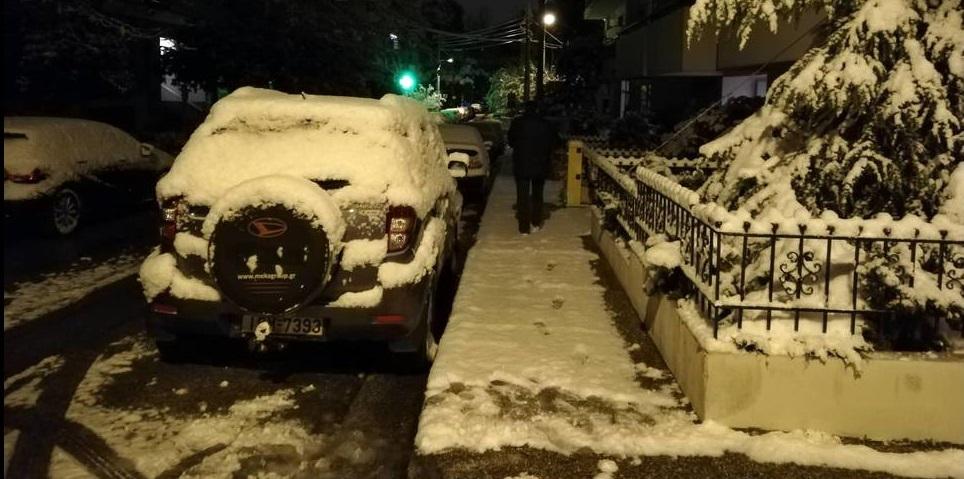 Έκτακτο δελτίο ΕΜΥ: Έρχονται χιόνια, θύελλες και παγετός