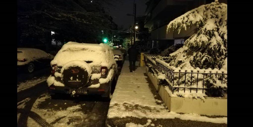 Η «Χιόνη» φέρνει χιόνι και κάνει την Ελλάδα …Σιβηρία!