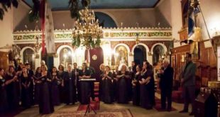 Χειροκροτήθηκε στη Βασιλική η Μικτή Χορωδία του Ορφέα