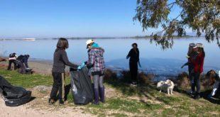 Η Λευκογαία για τον καθαρισμό της λιμνοθάλασσας