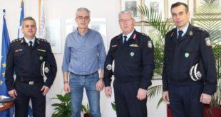 Συνάντηση Δημάρχου με τον νέο Αστυνομικό Διευθυντή