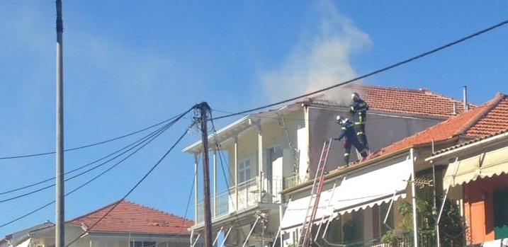 Φωτιά σε σπίτι της Πεφανερωμένης