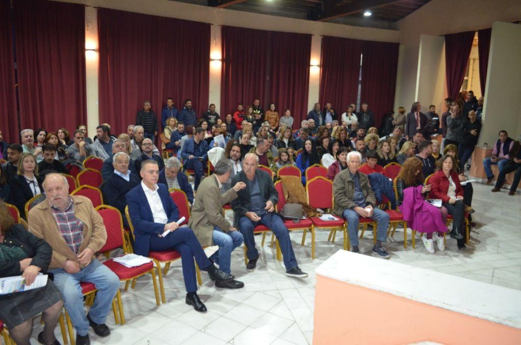 Παρουσίαση ψηφοδελτίου της «ΚΟΙΝΩΝΙΑΣ πολιτών»
