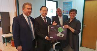 Η Ταϊβάν δώρισε ηλεκτρονικό εξοπλισμό σε 15 σχολεία μας