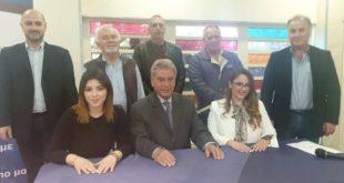 Παρουσίαση των υποψηφίων του Σπ. Σπύρου στη Λευκάδα