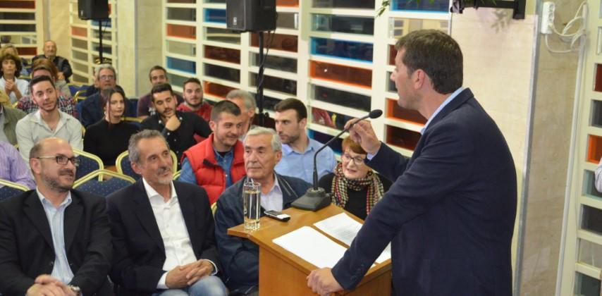 Η ομιλία του υποψηφίου Κώστα Γληγόρη στο ΙΟΝΙΟΝ ΣΤΑΡ