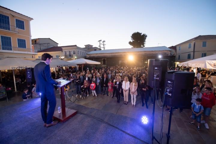 Η κεντρική προεκλογική ομιλία του Χαράλαμπου Καλού
