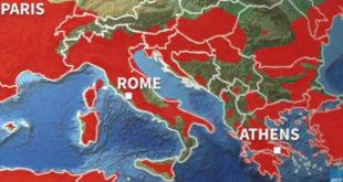 Σε κλοιό καύσωνα και η Ελλάδα!
