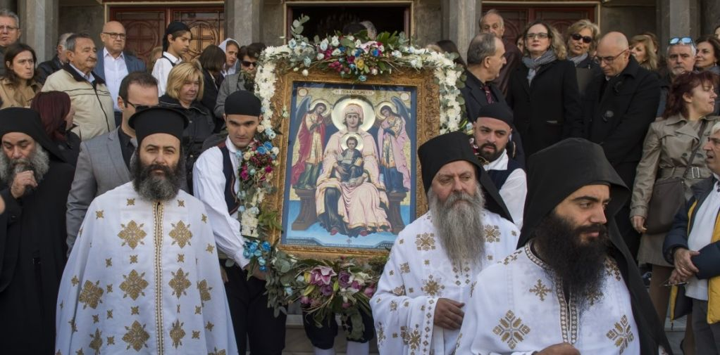 Εορτασμός της Φανερωμένης στην Ηλιούπολη