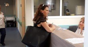 Επίσκεψη της Γεωργίας Αυγερινού στο Νοσοκομείο