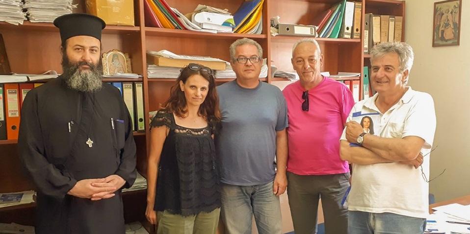 Η υποψήφια Γεωργία Αυγερινού στην Ένωση Πολυτέκνων