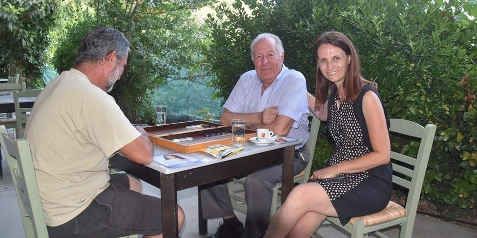 Η Γεωργία Αυγερινού περιοδεύει στην πόλη και στα χωριά