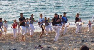 Προπόνηση αθλητών του «Ευκλέα» στον Αη Γιάννη